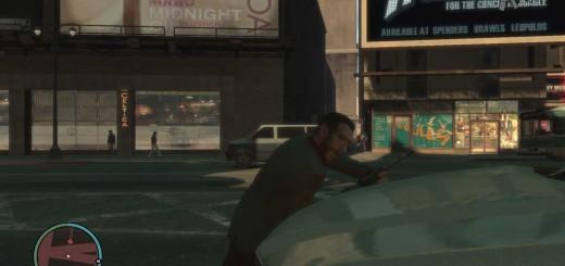 チンピラとの喧嘩はなぜか通りの向こう側で行われている。スタージャンクションは交通量が多いので、横断の際は気を付けよう。ボーっとしていると、私のように車に轢かれる。