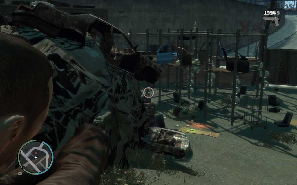 敵がカバーポジションをとっていても、高所から狙うことで体の露出部が増えるため、弾を当てやすくなる。