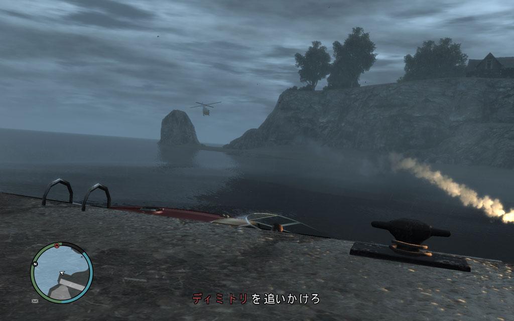 ときたまヘリから発射されるRPGが邪悪なので要注意。直撃したら、もちろんあの世行きだ。