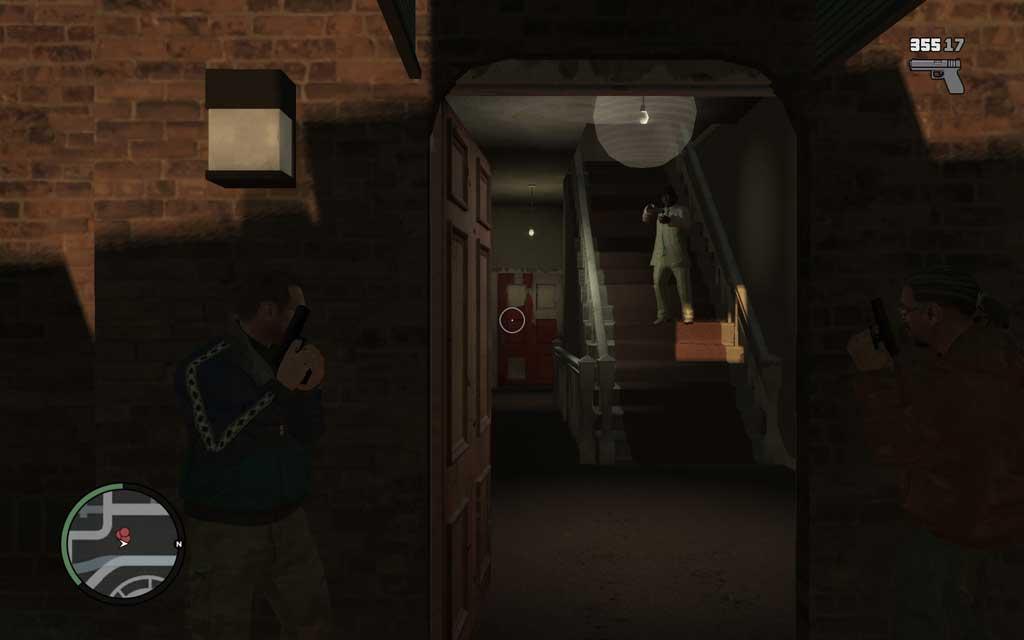 本格的な銃撃戦ではカバーアクションが重要。敵がリロードしている最中など、スキをついて射撃するのがポイント