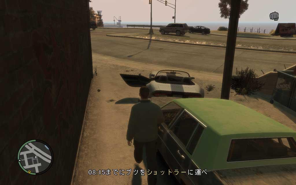 ジェイコブの用意してくれるボロ車では間に合わないので、私は自分の車に乗り換えている。