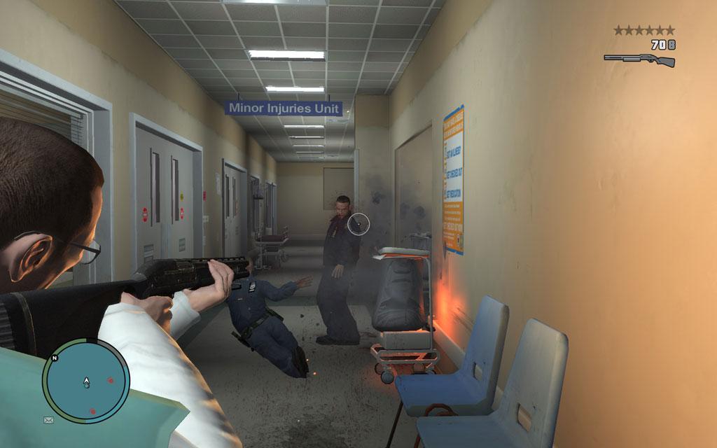 警護している警官達に気づかれたら、強行突破するしかない。弾幕を張りながら走り抜けよう。