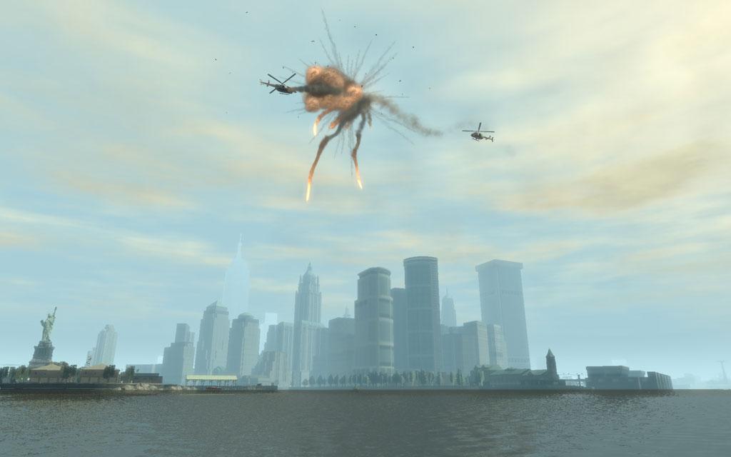 まるで映画のような展開に、思わず「おぉぉぉ〜」と声が漏れる。ただ、今度はヘリの操縦じゃなくて、RPGで狙うほうをやってみたい。